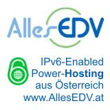 IPv6 enabled Power-Hosting aus Östterreich - www.allesedv.at