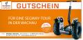 Segway Gutschein 2,5 Stunden Tour mit Einschulung